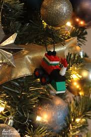 doodlecraft lego tree ornament diy