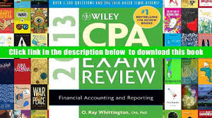 pdf wiley cpa exam review 2013 wiley cpa examination review