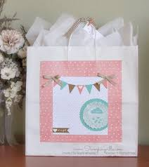 hello baby card keepsake gift bag part one