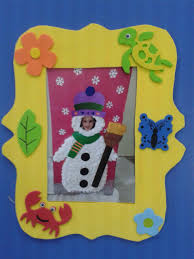 christmas frame craft crafts and worksheets for preschool