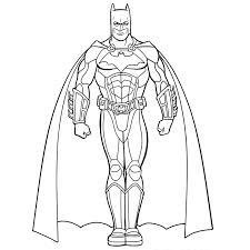 coloriages à imprimer batman super héros batman pinterest
