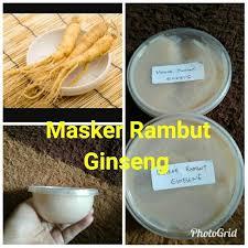 Masker Rambut Ginseng masker rambut ginseng kesehatan kecantikan perawatan rambut di