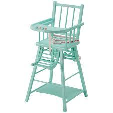 chaise haute bebe bois chaise haute en bois pour bébé berceau magique