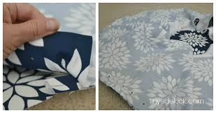 Recover Ottoman How To Reupholster An Ottoman