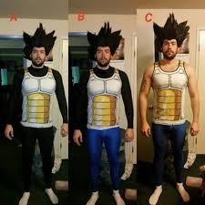 Vegeta Halloween Costume Jason