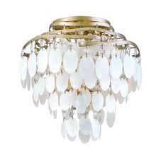 Pretty Chandeliers by Home Accessories Wonderful Capiz Shell Chandelier In Spiral