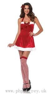 leg avenue santa u0027s little helper dress costume la 86611 red white