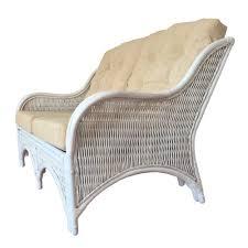 rattan lounge sofa rattan lounge sofa loveseat model karmen color mat white wash with