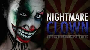 Halloween Makeup Clown by Nightmare Clown Halloween Makeup Tutorial Youtube
