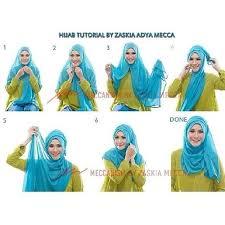 tutorial hijab paris zaskia 22 tutorial hijab zaskia adya mecca pashmina segi empat instan