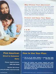 first american home buyers protection plan graphic web design and photography maureen first american home