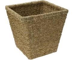 Wastepaper Basket Seagrass Wastepaper Bin Wicker Basket Wicker Vegetable Baskets