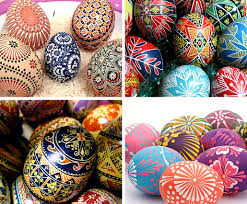 Russian Easter Egg Decorations by New Beautiful Blog Pretty Easter Eggs