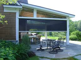 canvas shades for screen porch