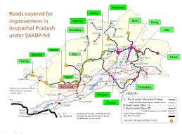 North India Map by Sardp Ne Ministry Of Development Of North Eastern Region North