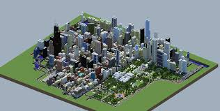 New York City Map For Minecraft by Finally Someone Has Built A Model Of Chicago In Minecraft