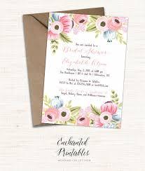 printable bridal shower invitations templates inexpensive free printable bridal shower invitations