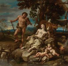 lorenzo de ferrari 1680 1744 adam and eve with infants cain and