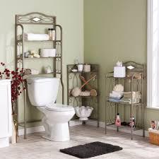 splendid floating shelves for bathroom on geometric wall idea