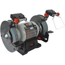 shop porter cable 6 in bench grinder with built in light at lowes com