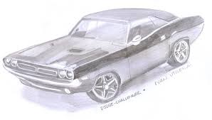 draw dodge challenger car insurance info