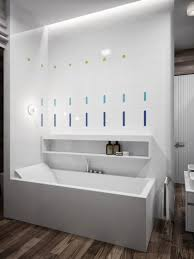 bathroom design marvelous white built in caddy bath over