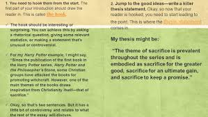 analysis thesis statement examples this analytical essay kick start what you need is a blueprint a 6 1