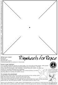 great team building project pinwheels for peace are a vision