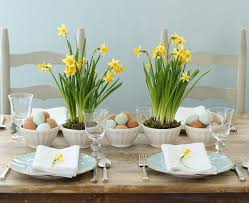 simple centerpieces simple centerpieces for your easter dining table schneiderman s