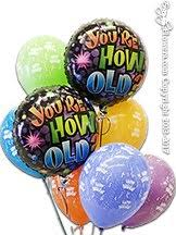 50th birthday balloon delivery 50th birthday balloons delivered same day orange county ca