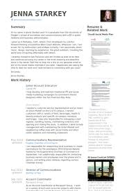 resume for accounts executive junior account executive resume samples visualcv resume samples