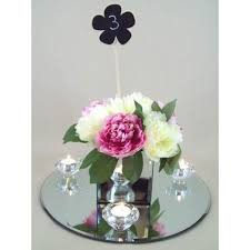 Mirrored Cube Vases Mirror Cube 12cm Gl020