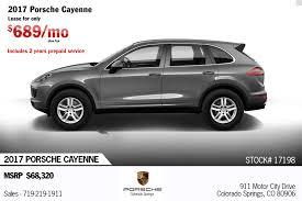 Porsche Cayenne Years - 2017 porsche cayenne v6 for sale in colorado springs co 17198