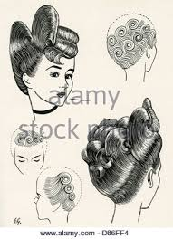 world war ii women hairstyles for the ats april 1941 p010129