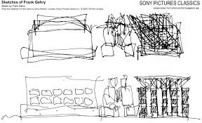 sony pictures classics sketches of frank gehry