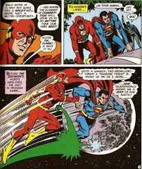 Dc Comics World Map by Dc Histories The Superman Flash Races