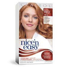 clairol nice n easy natural light auburn permanent red hair colour clairol