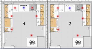 Recessed Lighting In Kitchen Kitchen Recessed Lighting Spacing Simple Regarding Kitchen