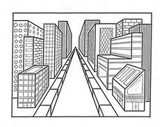 art ed central 2 point perspective 7th grade name art