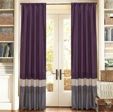 Red Curtains Living Room Interior Design Exciting Purple Geometric Curain Panels For Cozy