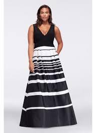 v neck printed plus size dress with mesh cutouts david u0027s bridal