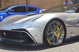 ferrari silver how about a chrome silver ferrari f12 trs 2 images how about a