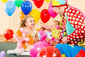 two cheerful clowns birthday children bright stock photo royalty ballons stock photos royalty free ballons images