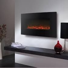 electric led wall mounted fire