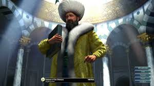 Ottomans Civ 5 Civilization V Leader Suleiman Of The Ottomans
