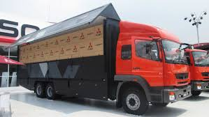 mitsubishi fuso box truck mitsubishi fuso fj2523 wingbox youtube