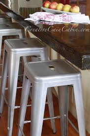 Comfortable Bar Stools Added Seating To The Island With Industrial Bar Stools Creative