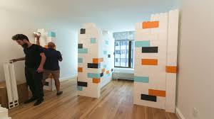 Pressurized Walls Nyc Everblock Apartment Divider Wall Time Lapse Youtube
