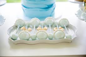 baby rattle cake pops kara s party ideas blue gold baby shower kara s party ideas