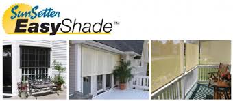 Motorized Awning Windows Sunsetter Retractable Awning Abc Windows And More
